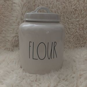 Rae Dunn chubby flour canister